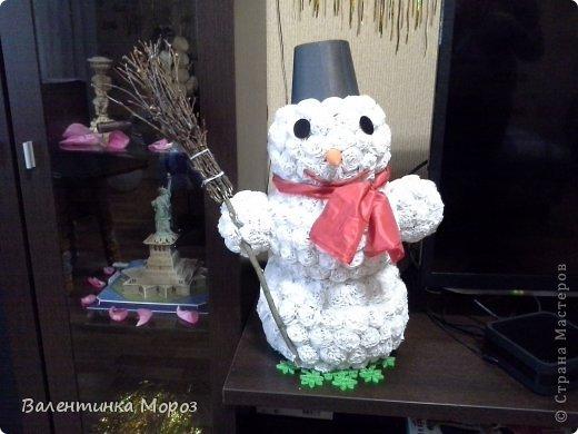 Мой маленький снеговичек. фото 4