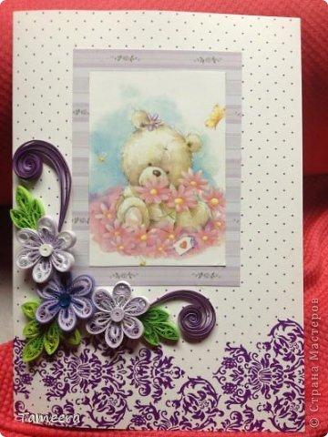 Здравствуйте, жители Страны Мастеров. Коллегам ко Дню рождения сделала вот такие открыточки со скромным подарочком:) фото 1