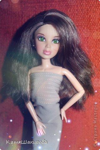 Привет! Меня зовут Катя , а это моя кукла Марта. (платье я сшила сама) фото 4