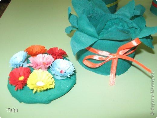 Такие шкатулочки мы дарили мамам к 8 марта. Делали детки 5-6 лет в детском саду на моих занятиях. фото 3