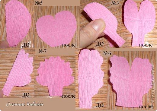 Пионы из конфет из бумаги