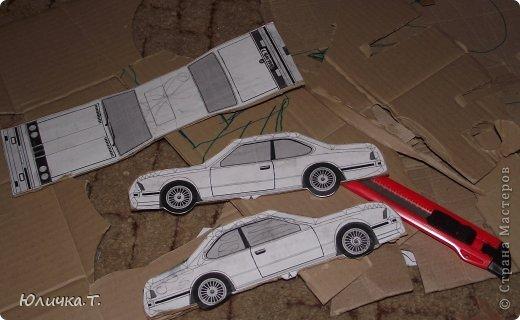 Как сделать машину из картона и клея