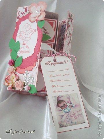 Добрый день! Выставляю на ваш суд подарочек сделанный для родившейся девочки (или ее мамаы?).  фото 2