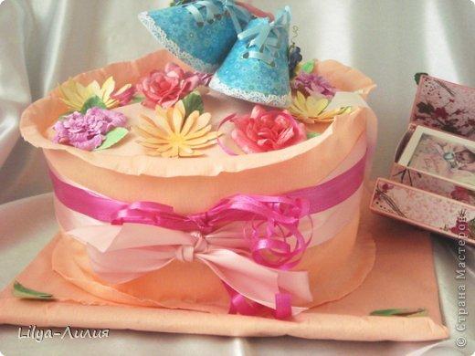 Добрый день! Выставляю на ваш суд подарочек сделанный для родившейся девочки (или ее мамаы?).  фото 6