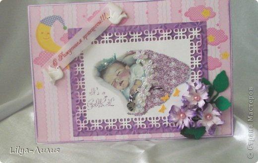 Добрый день! Выставляю на ваш суд подарочек сделанный для родившейся девочки (или ее мамаы?).  фото 8