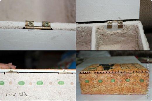 Мастер-класс Поделка изделие Моделирование конструирование ЕГИПЕТСКАЯ СИЛА     не декупаж + мини мк-фото - петля для шкатулки Материал природный фото 10