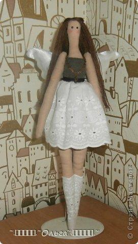 Вот такой ангелок получился у моей доченьки... фото 1