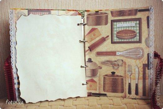 Вот такую кулинарную книгу сделала себе)  фото 4