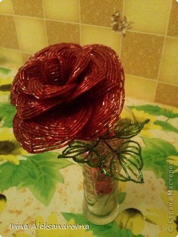 Цветы из бисера! фото 2
