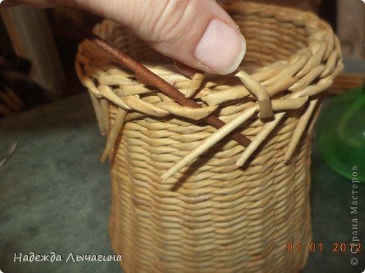 Мастер-класс Поделка изделие Плетение МК Загибки Бумага газетная Трубочки бумажные фото 28
