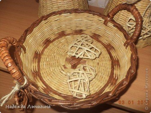 Мастер-класс Поделка изделие Плетение МК Загибки Бумага газетная Трубочки бумажные фото 36