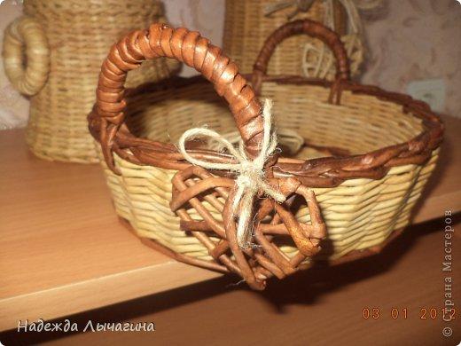 Мастер-класс Поделка изделие Плетение МК Загибки Бумага газетная Трубочки бумажные фото 37