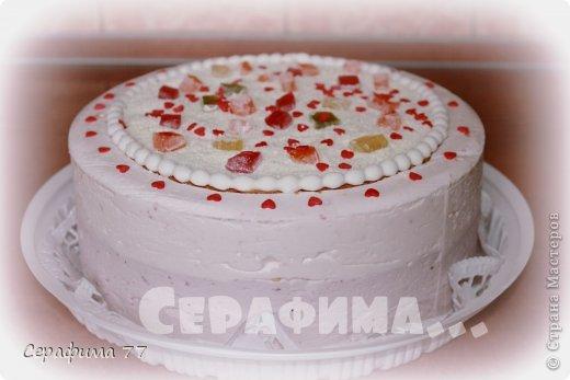 Класс. бисквит. Клубнично-черничный йогуртовый муссы с рахат лукумом и белым шоколадом.  фото 1