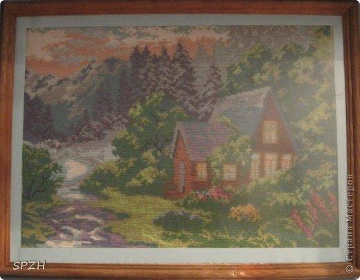 Домик в горах фото 1