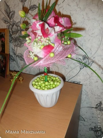 "Парящая кружка ""Орхидея"" фото 4"