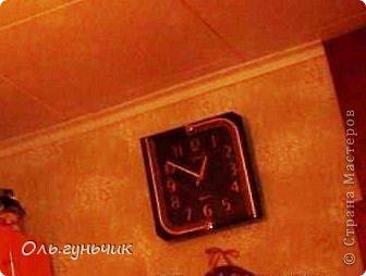 Здравствуйте все!!! продолжаю свою кофейную серию... Давно хотелось мне переделать наши старые часы и вот наконец то я созрела!! Налюбовавшись работами Натальи, особенно часами: https://stranamasterov.ru/node/476143 принялась за дело... фото 8