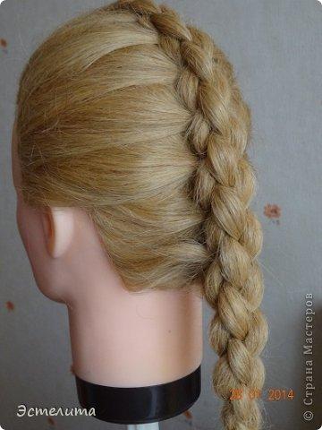 Здравствуйте уважаемые мастерицы! Моей дочери нравится, когда я заплетаю ей круглую косу. Смотрится красиво и заплетать быстро.   Попробуйте и Вы! фото 1