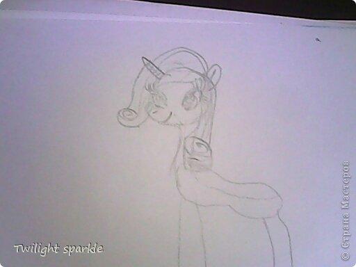 Budem risovatj princessu Selestiju. фото 11