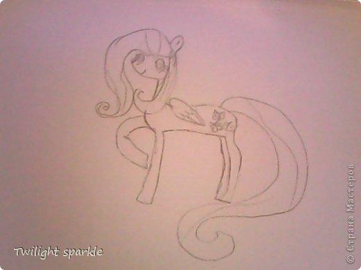 Budem risovatj princessu Selestiju. фото 28