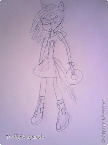 Budem risovatj princessu Selestiju. фото 31