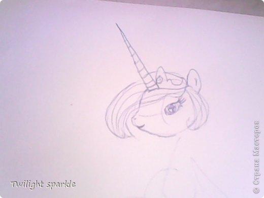 Budem risovatj princessu Selestiju. фото 3