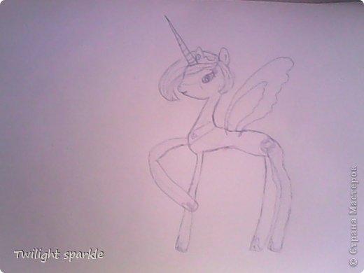 Budem risovatj princessu Selestiju. фото 4
