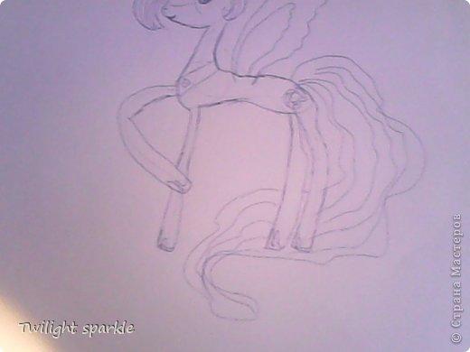 Budem risovatj princessu Selestiju. фото 5