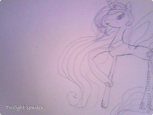 Budem risovatj princessu Selestiju. фото 6