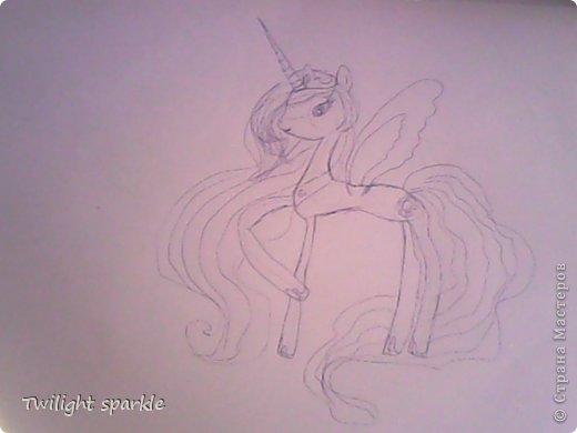 Budem risovatj princessu Selestiju. фото 7