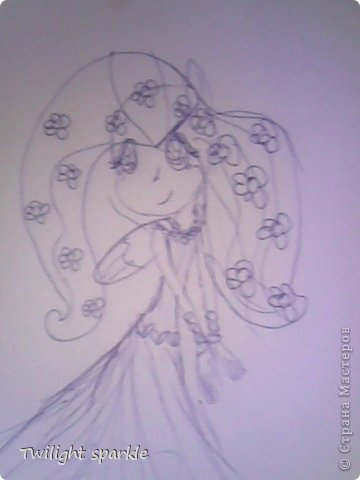 Budem risovatj princessu Selestiju. фото 36