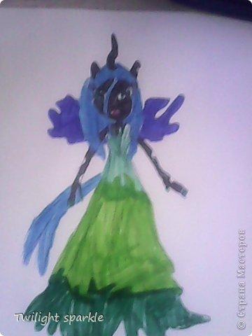 Budem risovatj princessu Selestiju. фото 42