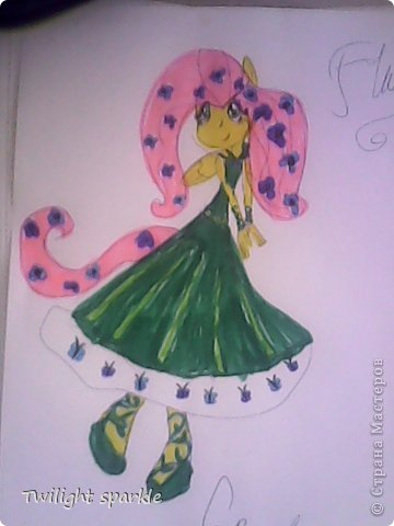 Budem risovatj princessu Selestiju. фото 40
