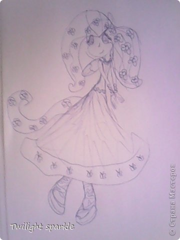 Budem risovatj princessu Selestiju. фото 39