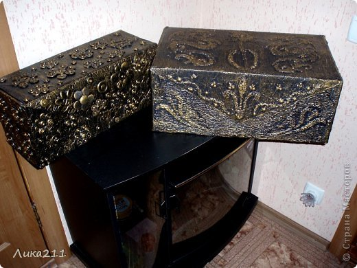 Красивая коробка для хранения своими руками