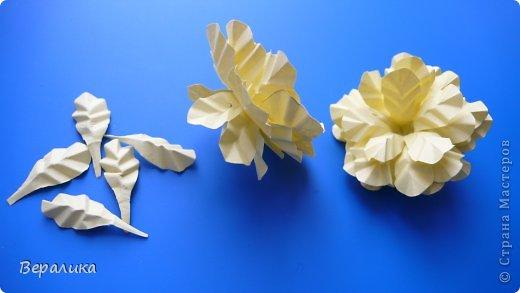 Мастер-класс Поделка изделие Бумагопластика Квиллинг Бархатцы маленькие объемные желтые Бумага Бумажные полосы Проволока фото 9