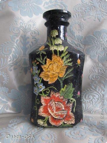 Бутылки стеклянные салфетки фото 7