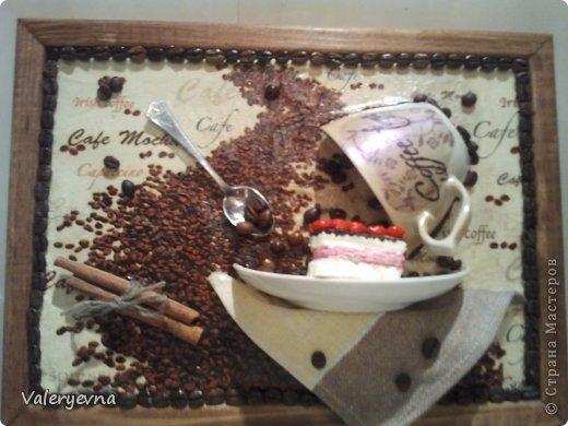 Декор предметов декупаж кофейная тема