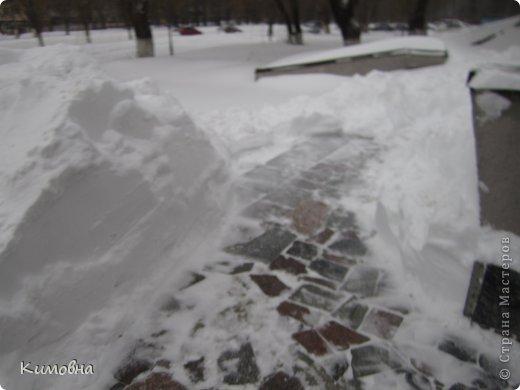Как мы все просили у зимы снега! Все новогодние праздники прошли при +4 градусах. Какой там уж снег... Но как говорят - бойся желаний, могут исполнится. Практически за 2-3 дня температура за окном упала до 20-23 мороза!!! За сутки до катаклизма выпал снег. Нет, не так - ВЫПАЛ СНЕГ. Если я на ошибаюсь, то такая погода в моем родном Днепропетровске была лет 15-20 назад. Как и полагается порядочному катаклизму он подкрался в самое тихое время - ночью. Проснувшись утром, люди попали из лета в суровую зиму. Чтобы пойти на работу, пришлось сначала в 4:30 утра идти откапывать подъезд. Тихо падает снежок))) фото 14