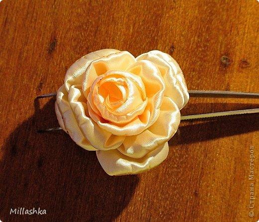 """Сегодня хочу показать вам, дорогие жители СМ, МК """"Пышная роза"""" или, как называю ее я, """"Роза для ленивых"""". Спросите: """"Почему для ленивых?"""". Отвечу: """"Да потому-что проще некуда!Быстро и ооочень красиво!"""" фото 18"""