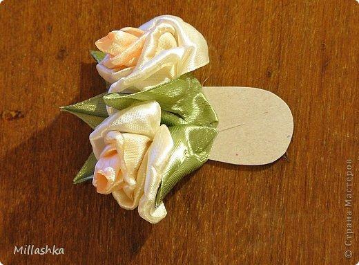 """Сегодня хочу показать вам, дорогие жители СМ, МК """"Пышная роза"""" или, как называю ее я, """"Роза для ленивых"""". Спросите: """"Почему для ленивых?"""". Отвечу: """"Да потому-что проще некуда!Быстро и ооочень красиво!"""" фото 26"""
