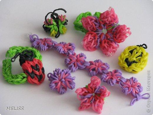 Браслетики из резиночек плетение