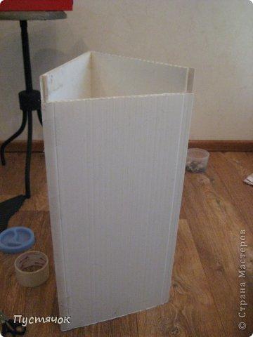 Мастер-класс Поделка изделие 8 марта Ассамбляж Напольная ваза  Клей Краска Материал бросовый Материал природный фото 5