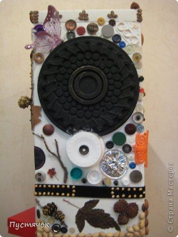 Мастер-класс Поделка изделие 8 марта Ассамбляж Напольная ваза  Клей Краска Материал бросовый Материал природный фото 8