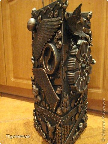 Мастер-класс Поделка изделие 8 марта Ассамбляж Напольная ваза  Клей Краска Материал бросовый Материал природный фото 29