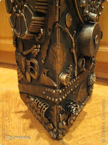 Мастер-класс Поделка изделие 8 марта Ассамбляж Напольная ваза  Клей Краска Материал бросовый Материал природный фото 37