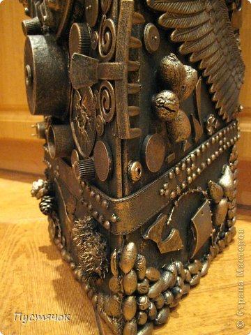 Мастер-класс Поделка изделие 8 марта Ассамбляж Напольная ваза  Клей Краска Материал бросовый Материал природный фото 44