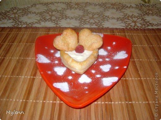 Кулинария Мастер-класс Валентинов день Рецепт кулинарный Ideas for Valentine's Day №2 Сердечки из слоёного теста Продукты пищевые фото 14
