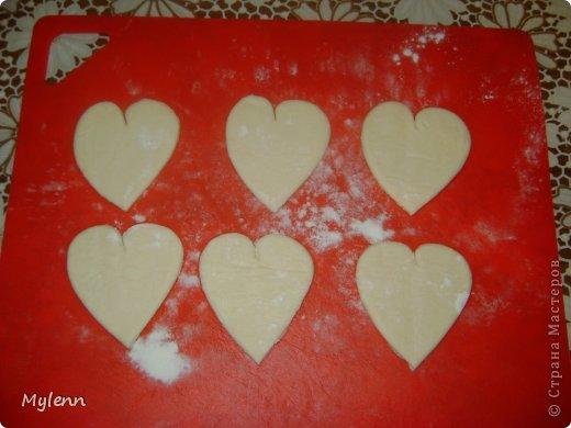 Кулинария Мастер-класс Валентинов день Рецепт кулинарный Ideas for Valentine's Day №2 Сердечки из слоёного теста Продукты пищевые фото 3