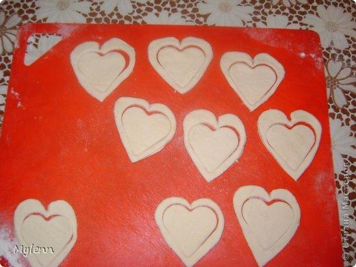 Кулинария Мастер-класс Валентинов день Рецепт кулинарный Ideas for Valentine's Day №2 Сердечки из слоёного теста Продукты пищевые фото 4