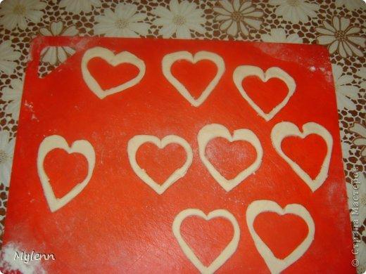 Кулинария Мастер-класс Валентинов день Рецепт кулинарный Ideas for Valentine's Day №2 Сердечки из слоёного теста Продукты пищевые фото 5